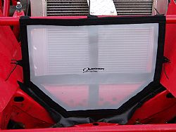 11-2332-12 RADIATOR SCREEN FOR MODIFIED RACE CAR